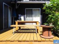 《シロアリ予防》庭のウッドデッキが危険!シロアリを寄せ付けない家